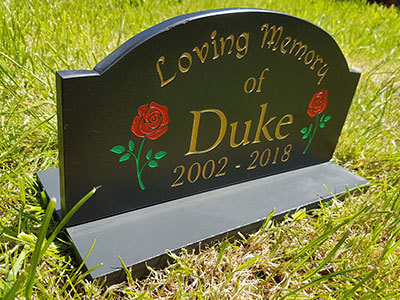 Welsh Slate Pet Memorials