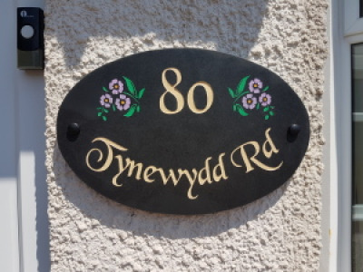 Welsh Slate and Marble House Signs